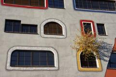 Σχολείο σχεδίου στη Γερμανία από Hundertwasser Στοκ Φωτογραφίες