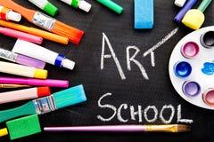 Σχολείο τέχνης Στοκ φωτογραφία με δικαίωμα ελεύθερης χρήσης