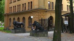 Σχολείο τέχνης Konsthogskolan στη Στοκχόλμη Σουηδία απόθεμα βίντεο