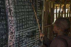 σχολείο Τανζανία Στοκ Εικόνα