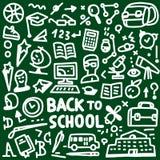Σχολείο - doodles θέστε Στοκ φωτογραφία με δικαίωμα ελεύθερης χρήσης