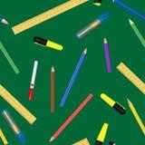 Σχολικές προμήθειες Στοκ εικόνα με δικαίωμα ελεύθερης χρήσης