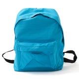 Σχολική τσάντα με το ψαλίδισμα της πορείας Στοκ Φωτογραφία