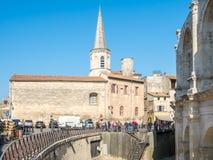 Σχολικός πύργος Αγίου Charles σε Arles, Γαλλία Στοκ εικόνες με δικαίωμα ελεύθερης χρήσης
