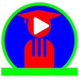 Σχολικό λογότυπο μουσικής Στοκ Φωτογραφίες