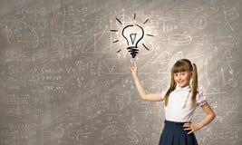 Σχολικό παιδί Στοκ φωτογραφία με δικαίωμα ελεύθερης χρήσης