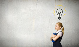 Σχολικό παιδί Στοκ εικόνα με δικαίωμα ελεύθερης χρήσης