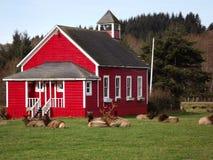 Σχολικό σπίτι Στοκ φωτογραφίες με δικαίωμα ελεύθερης χρήσης