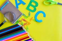 Σχολικό υπόβαθρο Στοκ εικόνα με δικαίωμα ελεύθερης χρήσης