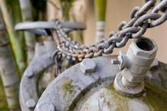 σωλήνας αλυσίδων Στοκ φωτογραφία με δικαίωμα ελεύθερης χρήσης