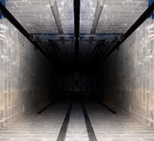 σωλήνας ανελκυστήρων Στοκ φωτογραφία με δικαίωμα ελεύθερης χρήσης