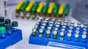 Σωλήνας δοκιμής στο εργαστήριο επιστήμης στοκ φωτογραφία με δικαίωμα ελεύθερης χρήσης