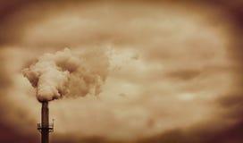 σωλήνας εργοστασίων Στοκ εικόνες με δικαίωμα ελεύθερης χρήσης
