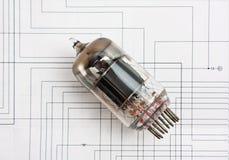 σωλήνας ηλεκτρονίων Στοκ φωτογραφίες με δικαίωμα ελεύθερης χρήσης