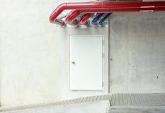 Σωλήνας χάλυβα για το κτήριο στοκ εικόνα με δικαίωμα ελεύθερης χρήσης