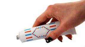 σωλήνας χεριών Στοκ εικόνες με δικαίωμα ελεύθερης χρήσης