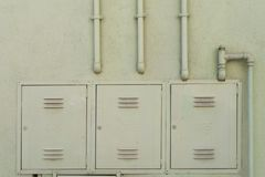 σωλήνες αερίου διανομή&sigma Στοκ Εικόνα