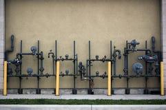 σωλήνες αερίου Στοκ Εικόνα