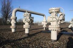 σωλήνες αερίου στοκ φωτογραφία