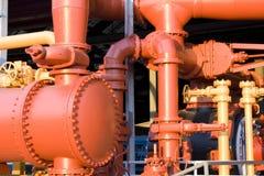 Σωλήνες αερίου στοκ φωτογραφίες με δικαίωμα ελεύθερης χρήσης