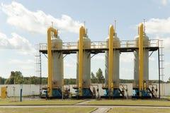 Σωλήνες αερίου Στοκ φωτογραφία με δικαίωμα ελεύθερης χρήσης
