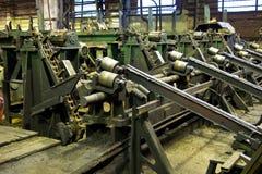 σωλήνες εργοστασίων Στοκ εικόνα με δικαίωμα ελεύθερης χρήσης