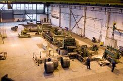 σωλήνες εργοστασίων Στοκ φωτογραφίες με δικαίωμα ελεύθερης χρήσης