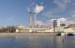 σωλήνες κεντρικών πόλεων Στοκ Εικόνες