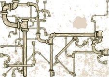 σωλήνες λαβύρινθων Στοκ φωτογραφία με δικαίωμα ελεύθερης χρήσης