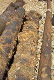 σωλήνες σκουριασμένοι Στοκ Εικόνες