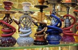 Σωλήνες Hookah για την πώληση στο μεγάλο Bazaar στη Ιστανμπούλ Στοκ Εικόνες
