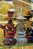 Σωλήνες Hookah για την πώληση στο μεγάλο Bazaar στη Ιστανμπούλ Στοκ φωτογραφία με δικαίωμα ελεύθερης χρήσης