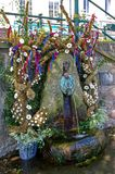 Σωλήνες Malvhina στο χρόνο καλά επιδέσμου στοκ φωτογραφία με δικαίωμα ελεύθερης χρήσης