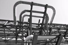 σωλήνωση εργοστασίων Στοκ εικόνα με δικαίωμα ελεύθερης χρήσης