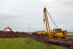 σωλήνωση κατασκευής Στοκ φωτογραφία με δικαίωμα ελεύθερης χρήσης