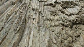 Σωληνοειδής μορφή βράχου Στοκ Φωτογραφίες