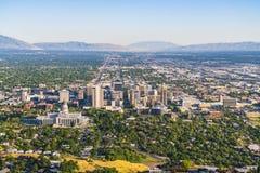 Σωλτ Λέικ Σίτυ, Utah, ΗΠΑ 2017/06/14: όμορφη Σωλτ Λέικ Σίτυ α Στοκ φωτογραφία με δικαίωμα ελεύθερης χρήσης