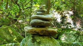 Σωροί βράχου, δύσκολο κρατικό πάρκο δικράνων Στοκ φωτογραφία με δικαίωμα ελεύθερης χρήσης