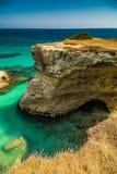 Σωροί στην ακτή Apulia στην Ιταλία Στοκ Φωτογραφία