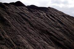 Σωροί του άνθρακα Στοκ εικόνες με δικαίωμα ελεύθερης χρήσης