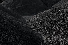 Σωροί του άνθρακα Στοκ Εικόνες