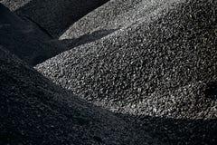 Σωροί του άνθρακα Στοκ εικόνα με δικαίωμα ελεύθερης χρήσης