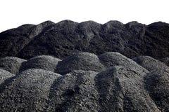 Σωροί του άνθρακα Στοκ Φωτογραφίες