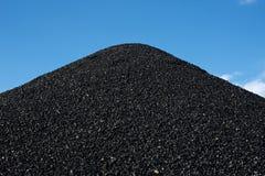 Σωροί του άνθρακα Στοκ φωτογραφία με δικαίωμα ελεύθερης χρήσης