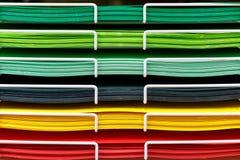 Σωροί του χρωματισμένου χαρτονιού για το σχέδιο στοκ εικόνα με δικαίωμα ελεύθερης χρήσης