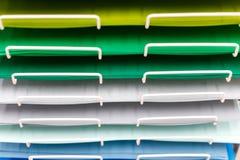 Σωροί του χρωματισμένου χαρτονιού για το σχέδιο στοκ φωτογραφία με δικαίωμα ελεύθερης χρήσης