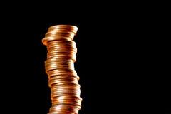 Σωροί των παλαιών χρυσών νομισμάτων Στοκ φωτογραφία με δικαίωμα ελεύθερης χρήσης