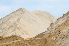 Σωρός άμμου στοκ εικόνα με δικαίωμα ελεύθερης χρήσης