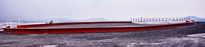 Σωρός Γερμανία Halde Alsdorf Στοκ Φωτογραφίες