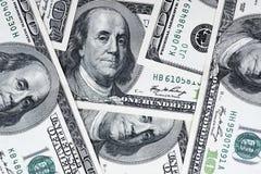 Σωρός εκατό δολαρίων ως υπόβαθρο Μετρητά των λογαριασμών εκατό δολαρίων, εικόνα υποβάθρου δολαρίων με τη υψηλή ανάλυση στοκ εικόνα